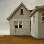 Bo Bartlett, My Childhood Home, oil on panel, 28 x 25 inches