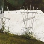 Jamie Wyeth, Trellis, 1974, Watercolor, 21 ½ x 30 inches