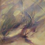 Jane Pack, Branches, 2009, oil on paper, 19 5/8 x 16 3/4 inches