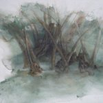 Jane Pack, Olive Grove, 2009, 23 1/2 x 28 1/2 inches