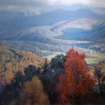 Michael Godfrey, Morning Looking West, Shenandoah Valley, oil on canvas, 24 x 36 inches