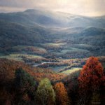 Michael Godfrey, View from Signal Knob, oil on canvas, 24 x 24 inches