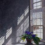 Timothy Barr, Lady Slippers (SOLD), 2021, Oil on panel, 16 x 12 inches