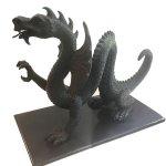 Eric Berg, Dragon, Bronze, 18 x 14 1/2 x 9 inches