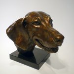 Margery Torrey, Impish, bronze, 9 1/4 x 12 x 9 1/2 inches, edition of 5