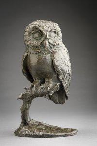 Rikki Saunders, Mortimer, 2015, Bronze, 8 x 4 x 5 inches