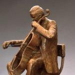 J. Clayton Bright, Cello Player (detail of String Quartet)