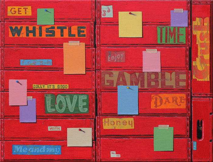Robert Jackson, Gamble Everything For Love, oil on linen, 30 x 40 inches