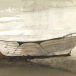 Andrew Wyeth, Hatteras, 1954, Watercolor on paper, 16½ x 29 inches