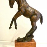Margery Torrey, Frolic, Bronze, Table Size
