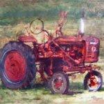 Michael Doyle, Grandpa, Oil on panel, 15 x 22 inches