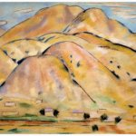 Marsden Hartley, Arroyo Hondo, NM, 1917, Pastel on Paper, 18 x 28 inches