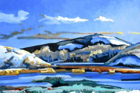Philip Koch, The Great Dune (SOLD), 2020, Oil on canvas, 28 x 42 inches