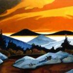Philip Koch, Yellow Arcadia II, 2009, Oil on panel, 18 x 24 inches