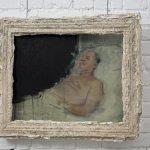 Rosy Lamb, John H, Mixed Media, 25.5 x 20.5 inches