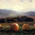 Timothy Barr, Autumn Morning, Oil on Panel, 20 x 30 inches