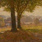 N.C. Wyeth, Hazy Afternoon, 1908/1911, oil on canvas, 24 7/8 x 29 7/8 inches