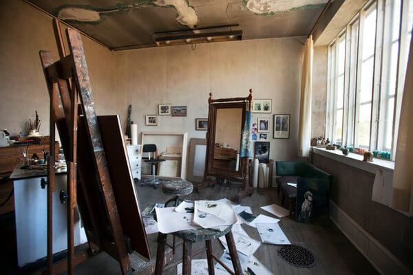 Andrew Wyeth's studio in Chadds Ford, PA.