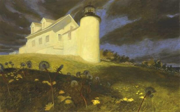 Jamie Wyeth, Lighthouse Dandelions