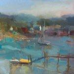 CL - Misty Morning, Southwest Harbor