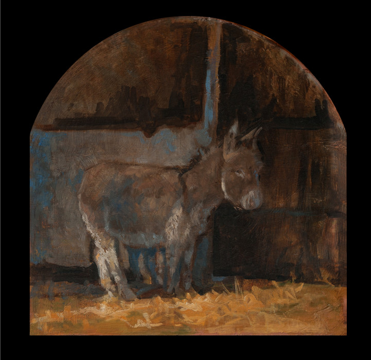 The Donkey oil on canvas