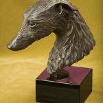 Rikki Morley Saunders, Frisky, bronze, 9 1/2 x 10 1/2 x 5 inches