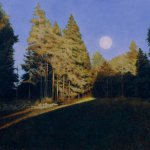Greg Mort, Slanting Light, 2013, Watercolor, 21 x 29 inches