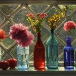 Scott Prior, Window in June, 2013, oil on canvas, 24 x 34 inches