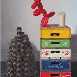 Robert C. Jackson, Strategizing, 2014, oil on linen, 40 x 30 inches