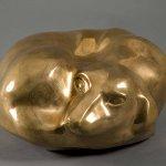 William Zorach (1887 - 1966), Dog Sleeping, 1935, bronze, ed. 5/6, 11 x 6 x 11 1/4 inches
