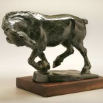 Julia Levitina, Defy, Bronze, 9 x 8 1/2 x 5 1/2 inches, edition of 9