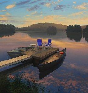 SP - Sunrise on the Lake sm