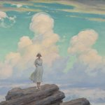 Charles Courtney Curran, The Veiled Cloud, oil on board, 25 x 29 inches