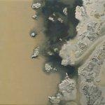 Sandra Mendelsohn Rubin, Salt Pond #2, 2012, oil on polyester, 5 x 6 inches
