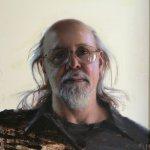 Daniel Sprick, Hone Philip, 2011, oil on board, 20 x 16 inches