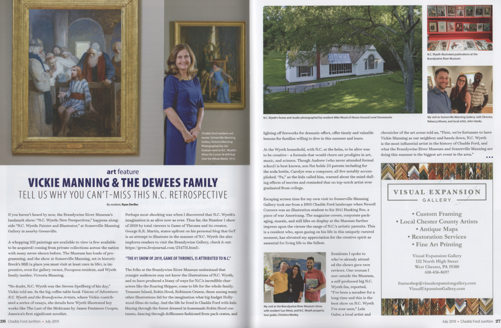 VICKIE MANNING & THE DEWEES FAMILY FEATURED IN JUNXION MAGAZINE