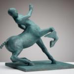 Andy Scott, Centaur, Bronze, 13 ¼ x 15 ¾ x 10 ¼ inches
