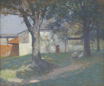 N.C. Wyeth (1882 - 1945), The Artist's Studio (SOLD), c. 1908-1910, Oil on canvas, 25 ¼ x 30 ¼ inches