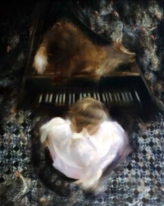 Sarah McRae Morton, Fox in the Hen House, 2020, Oil on wood, 39 ¼ x 31 ½ inches