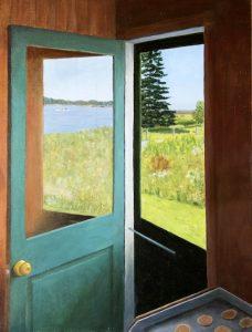 J. Clayton Bright, Cook's View, 2021, Oil on linen, 18 x 24 inches