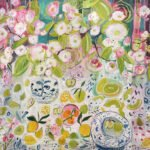 Elizabeth Endres; Branches, Clippings, Lemons, and Honey Dew (SOLD); 2021; Oil on canvas; 30 x 40 inches