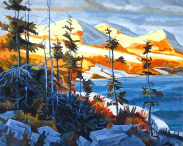 Philip Koch, Mountains by the Sea, 2019, Oil on canvas, 40 x 50 inches