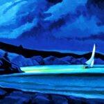 Philip Koch, The Reach IV, 2020, Oil on canvas, 40 x 60 inches