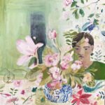 Elizabeth Endres, Florals (SOLD), 2021, Oil on canvas, 20 x 20 inches