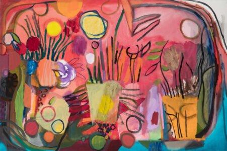 Bill Scott, Still Life, 2019, Oil on canvas, 42 x 63 inches