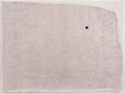 Cheryl Levin, Cherry Blossom Path, 2021, Ink on rice paper, 24 x 36 inches