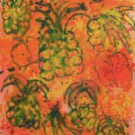 Grace Hartigan, Hawaiian Still Life, 1988, Oil on canvas, 78 x 42 inches