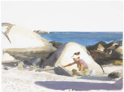 Bo Bartlett, Untitled (SOLD), 2020, Gouache on paper, 22 ½ x 30 ¼ inches